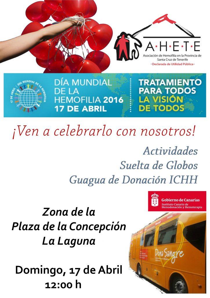 17 de Abril – Día Mundial de la Hemofilia