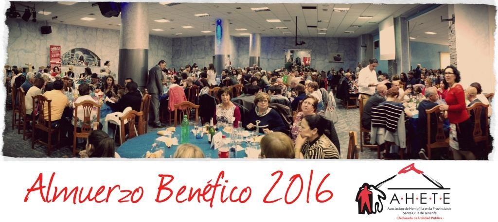 Almuerzo Benéfico 2016… ¡Gracias!