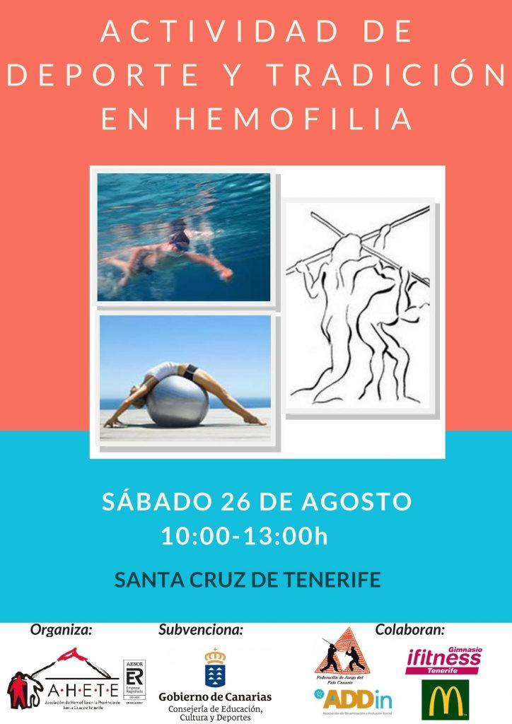 Deporte y tradición en Hemofilia, Tenerife