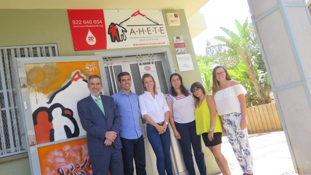 Fundación Cepsa visita AHETE, Premio al Valor Social 2016